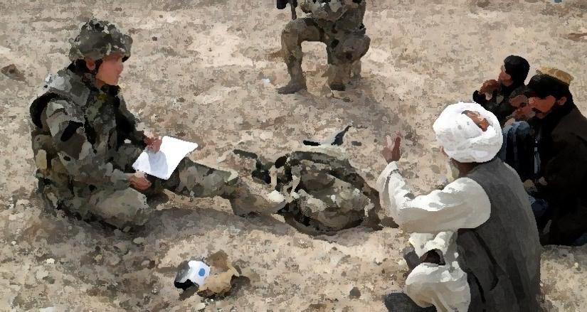 Onward Christian soldier?